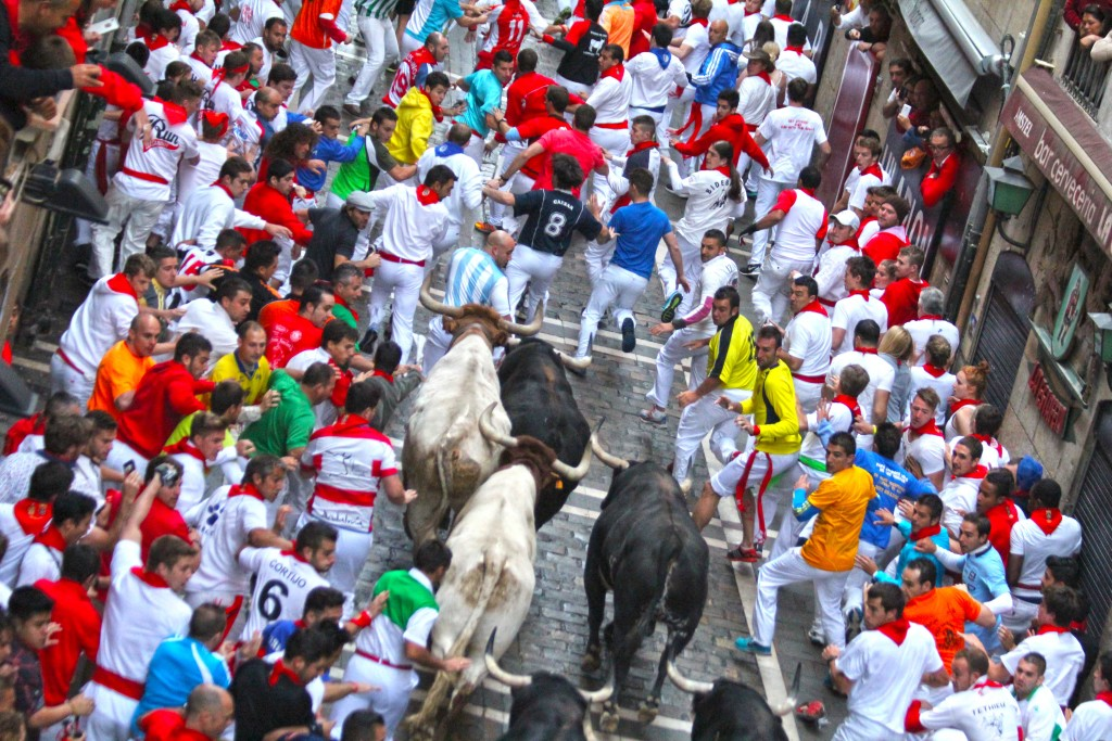 Best things about Running of the Bulls