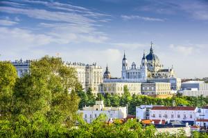 Trip from Pamplona to Madrid, Madrid Skyline