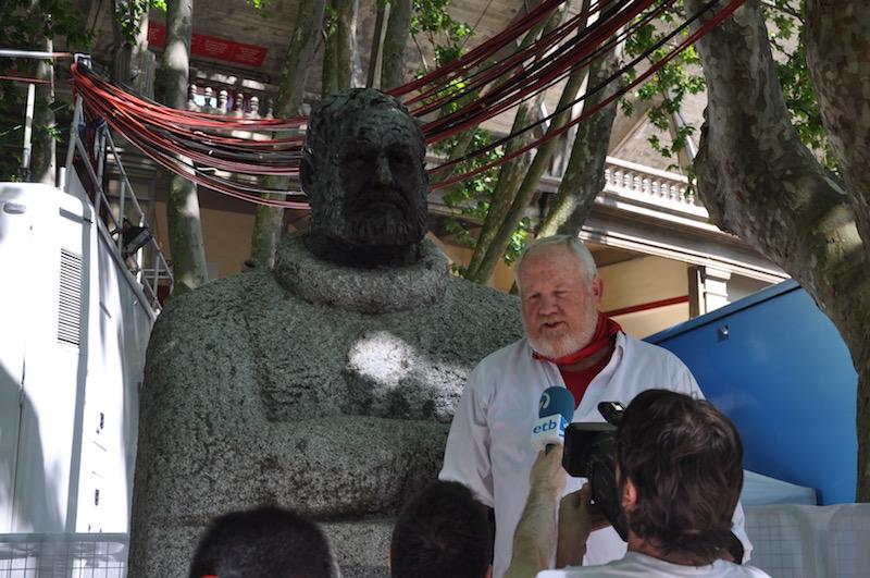 Ernest Hemingway Pamplona