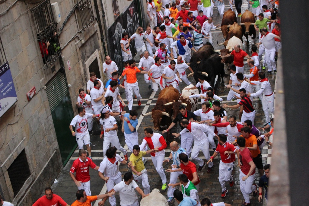 running of the bulls opening package 2021