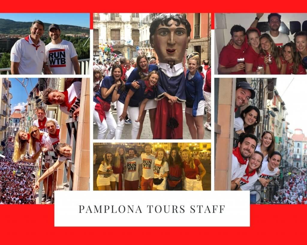 Pamplona Tours Staff
